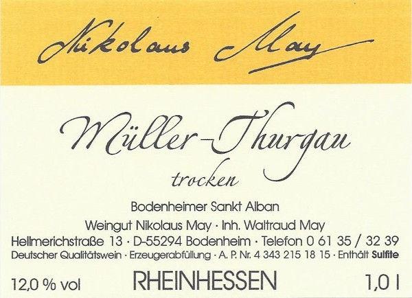 Müller-Thurgau 2016 trocken