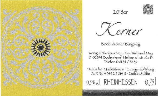 Weingut Nikolaus May Kerner 2018