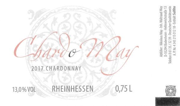 Weingut Nikolaus May ChardoMay 2017