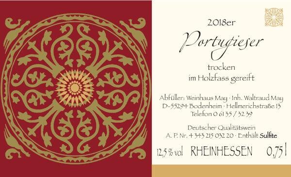 Weinhaus May Portugieser Holzfass