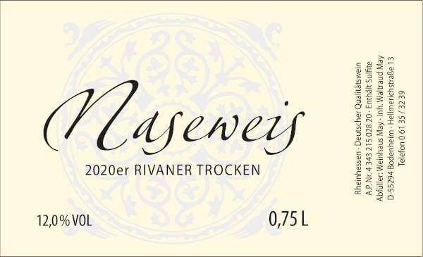 Weinhaus May Naseweis 2020