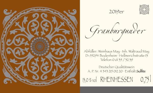 Weinhaus May Grauburgunder 2019