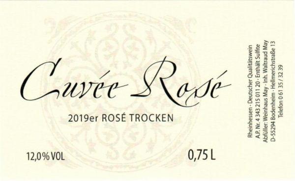 Weinhaus May Cuvee Rosé - trocken 2019