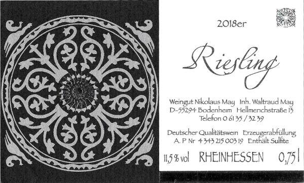 Weinhaus May Riesling 2018