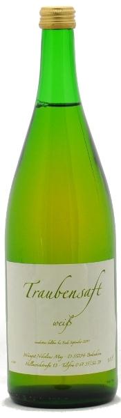 Weingut Nikolaus May Traubensaft weiß