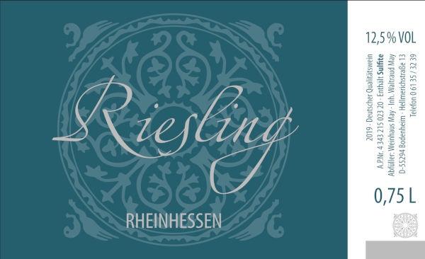 Weinhaus May Riesling 2019