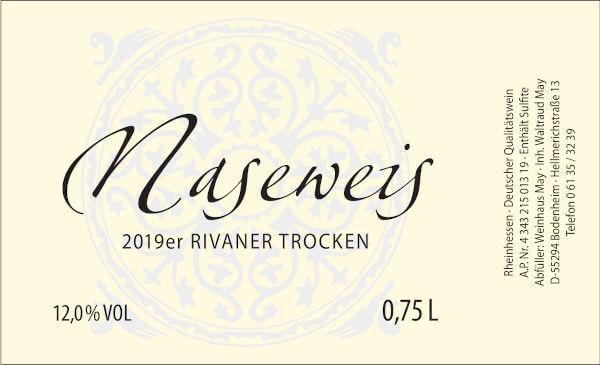 Weinhaus May Naseweis 2019