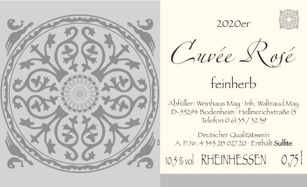 Weinhaus May Rosé 2019 - feinherb